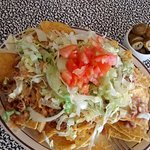 Nachos With Grated Cheese Substitute