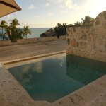 Our incredible private plunge pool -- used morning, noon and night!!