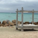 Typical beach photo in the Carribbean - view from LaMoNa