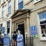 Jane Austen Centre in Bath: Which one is the real figure