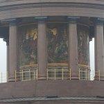 the base of the column, so pretty