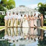 Wedding Party at the Zen Garden