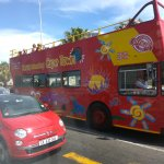 Cape Town  by open bus