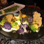 This is the cauliflower appetizer - yum!