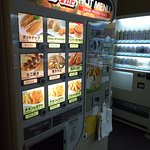 24 hours food vending machine