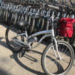 Rent a bike for $10 an hour $30 for the whole day lock included so ride south to Redondo Beach