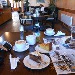 Carrot Cake & Other Hot Coffee feels like home!