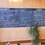 What more homely than a Black Board Menu