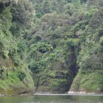 Beautiful gorge seen on the Whanganui River Adventures jet boat ride.