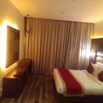 Large specious rooms with soft lighting.