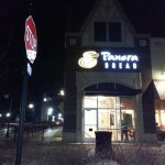 front of & entrance to Panera Bread