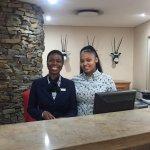 Friendly staff at reception👌🏽
