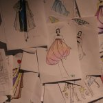 Design Museum - Fashion Drawings