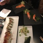 Ta inte soft crab men välj sashimi