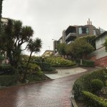 Looking up Lombard St part way down