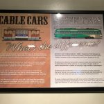 Difference between cable cars and street cars