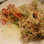 Grilled Grouper with Caesar Salad