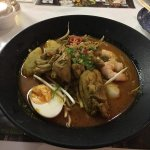 Chicken and Prawn Laksa