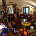 príjemná reštaurácia v historickom dome