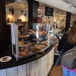 Cookies, pastries, and tea. A nice break halfway through the tour.