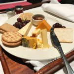 24hr room service cheese plate