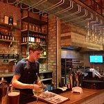 Busy-But-Obliging Bartender