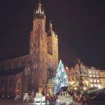 St Mary's Basilica at Christmas
