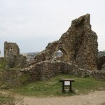 Castle remains.