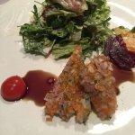Rindfleichsülze mit Salat