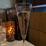 Champagne at Hall's Chophouse