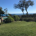 The lovely pool and view from the rolling lawns at Belmomnd El Encanto