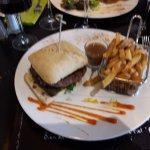 Burger à la française (Menu tout madeleine)