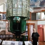Fresnel Lens from Pt Conception Lighthouse.