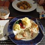 Excellent Menu del Dia €11.50 inclusive VAT. Antonio Chef proprietor & Waiter David very friendl