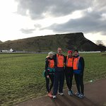 At the base of Arthurs Seat.