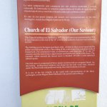 Information panel outside church