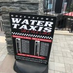 Water taxi schedule