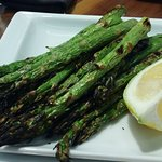 Grilled Asparagus small plate--very good