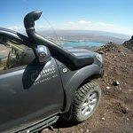 caminos de suelo volcánico!!