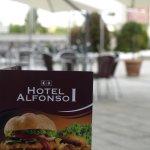 Terraza Hotel Alfonso I