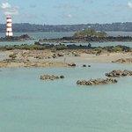 Lighthouse off island