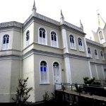 Lateral da Igreja de São Boaventura em Canavieiras.