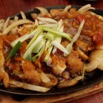 Sizzling Sweet & Sour Chicken