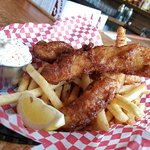Fish & Chips ~ House Made Beer Batter ~ Wallace Brewing