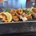 fry calamari