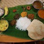 Pongal celebration in Santhi restaurant 2018 traditional food served on banana leaf 😋😀