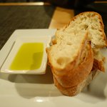 bread with great EVOO