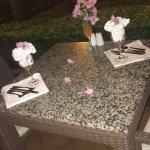 Julios Table Set Up