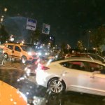 ...chaotic traffic scene  in Istanbul streets