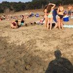 Crowded .. clean beach
